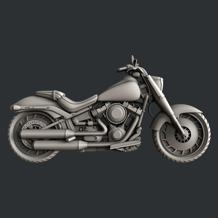 P52.jpg Download STL file 3d models motorcycle • 3D printable design, 3dmodelsByVadim
