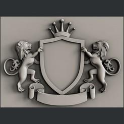 3d printer model 3d models coat of arms, burcel