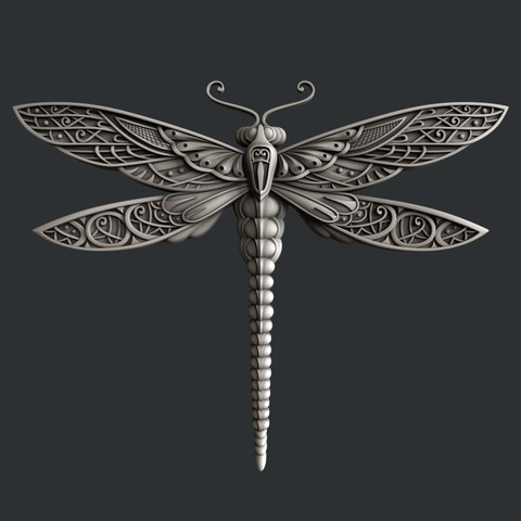 3D print files Dragonfly, burcel