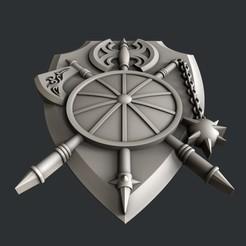 Descargar diseños 3D Escudo, 3dmodelsByVadim