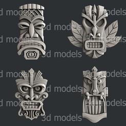 P322-alla.jpg Download STL file Totem set2 • 3D print object, 3dmodelsByVadim