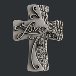 Descargar archivo 3D Amor Cruzado, 3dmodelsByVadim