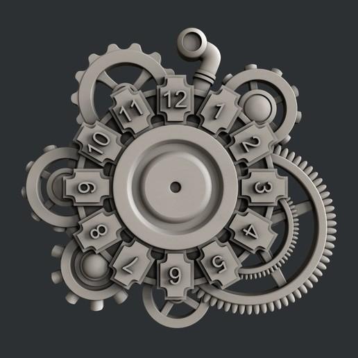 Download 3D model clock c23, burcel