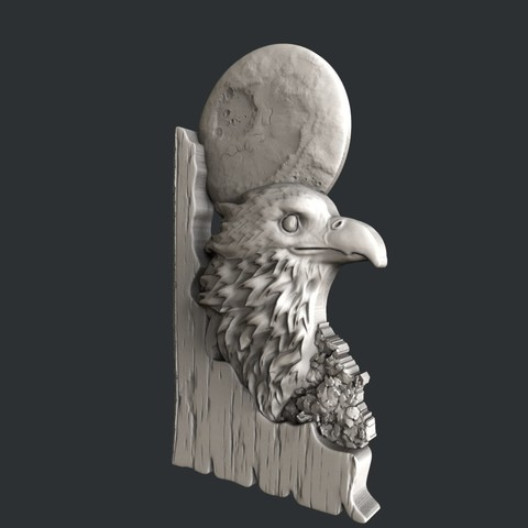 eagle2jpg.jpg Download STL file 3d models eagle • Design to 3D print, 3dmodelsByVadim
