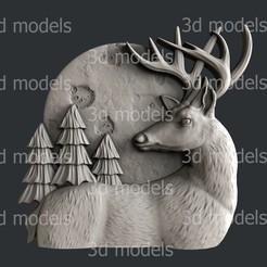 P337a.jpg Download STL file deer • 3D printer object, 3dmodelsByVadim