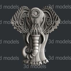 P328a.jpg Download STL file Elephant • 3D printing object, 3dmodelsByVadim