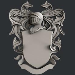 Descargar modelos 3D para imprimir Escudo de Armas, 3dmodelsByVadim