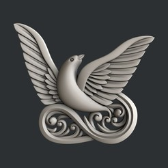 3d print files Dove, burcel