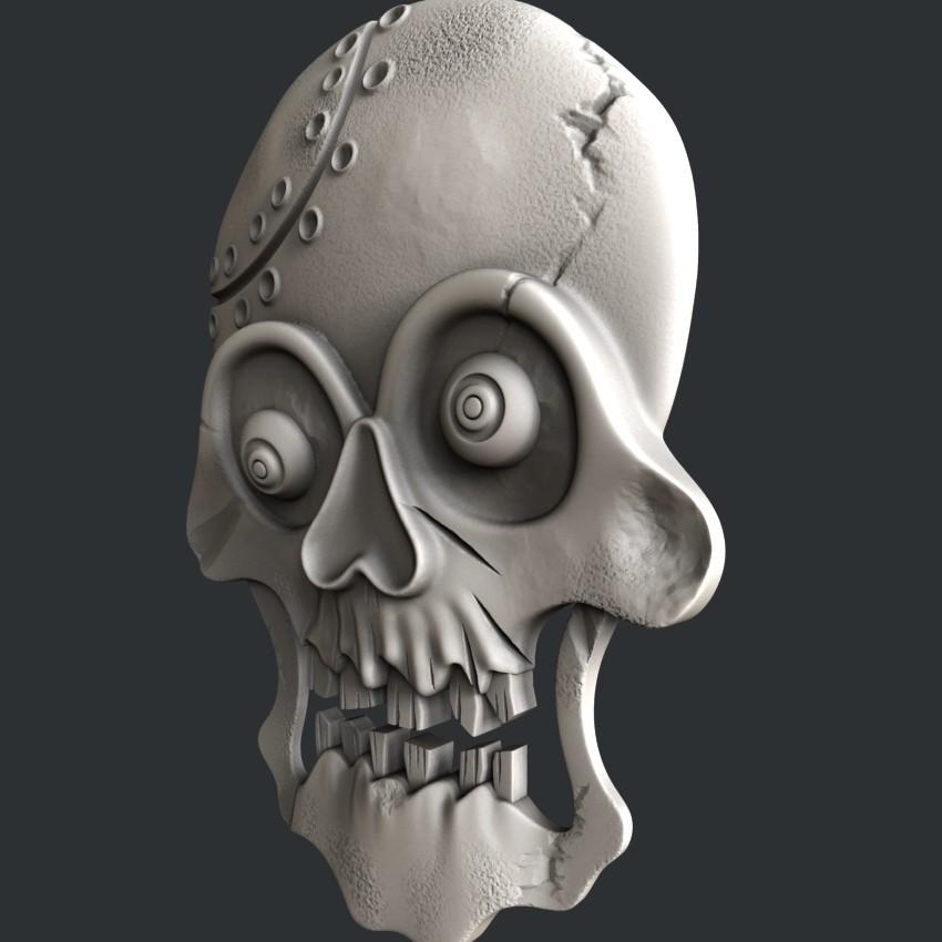 P31-1.jpg Download STL file skull • 3D print object, 3dmodelsByVadim