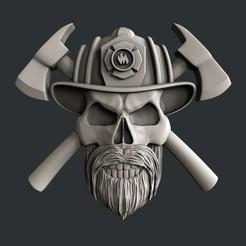 Modelos 3D para imprimir Bombero, burcel