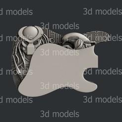 Guitar2a.jpg Download STL file Guitar2 • 3D print template, 3dmodelsByVadim