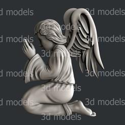 P343a.jpg Download STL file Angel • 3D printing design, 3dmodelsByVadim