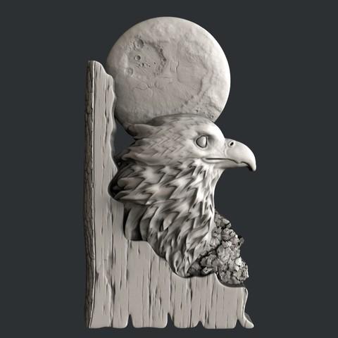 eagle0.jpg Download STL file 3d models eagle • Design to 3D print, 3dmodelsByVadim