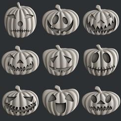 STL 3d models Halloween, burcel