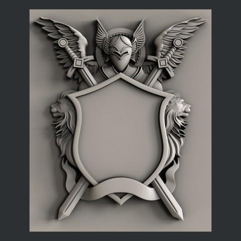 Download 3D printer designs Coat of Arms, burcel