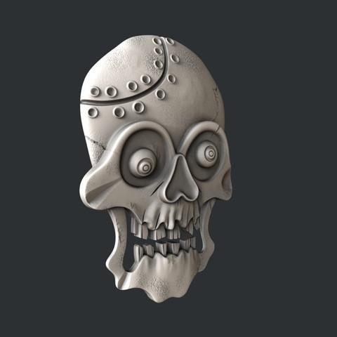 P31-0.jpg Download STL file skull • 3D print object, 3dmodelsByVadim