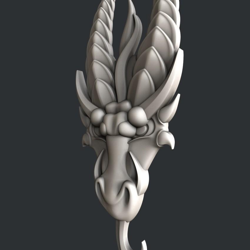P109-2.jpg Download STL file Dragon  • 3D print object, 3dmodelsByVadim
