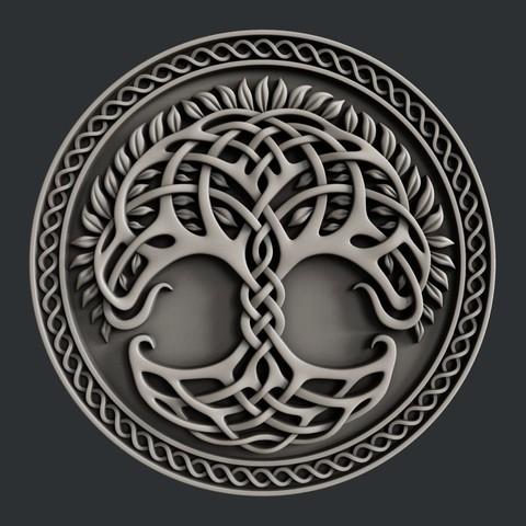 Download 3D printing files tree, burcel