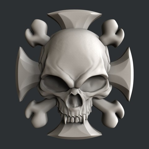 P73.jpg Download STL file 3d models Skull • 3D printing model, 3dmodelsByVadim