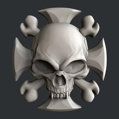 STL Modelos 3d Cráneo, burcel