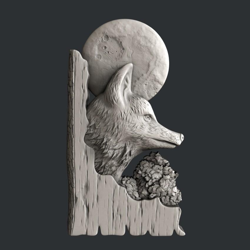 fox.jpg Download STL file 3d models fox • 3D printing template, 3dmodelsByVadim
