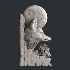 Download 3D printer model 3d models fox, 3dmodelsByVadim