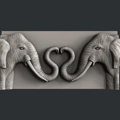 P310.jpg Télécharger fichier STL Eléphant d'amour • Design à imprimer en 3D, 3dmodelsByVadim