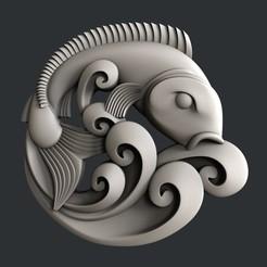 Impresiones 3D Pescado, burcel