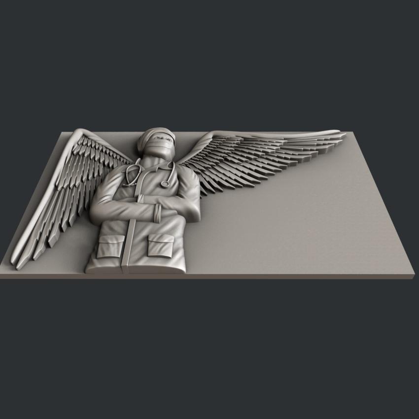 F6-3.jpg Télécharger fichier STL gratuit ange médecin • Design à imprimer en 3D, 3dmodelsByVadim