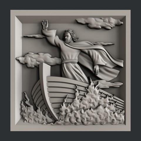 Descargar modelo 3D Religión, burcel