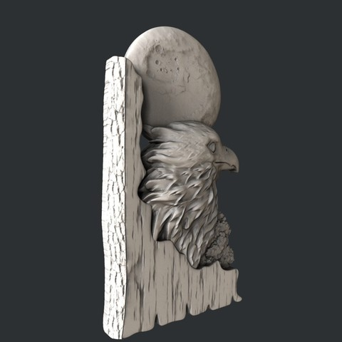 eagle1.jpg Download STL file 3d models eagle • Design to 3D print, 3dmodelsByVadim