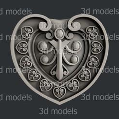 P318a.jpg Download STL file Heart • 3D print model, 3dmodelsByVadim