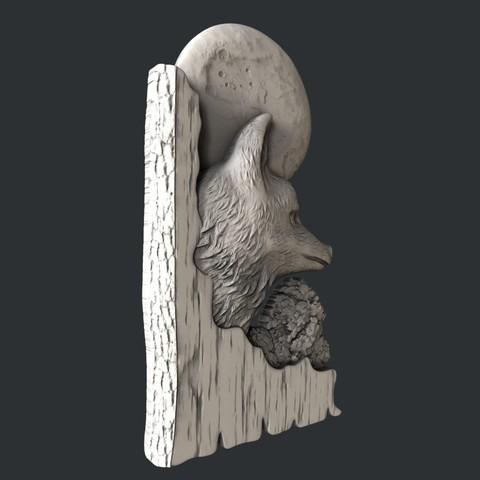 fox1.jpg Download STL file 3d models fox • 3D printing template, 3dmodelsByVadim