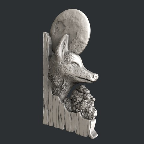 fox2.jpg Download STL file 3d models fox • 3D printing template, 3dmodelsByVadim