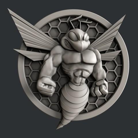 P23.jpg Download STL file 3d models Bee • 3D printing design, 3dmodelsByVadim
