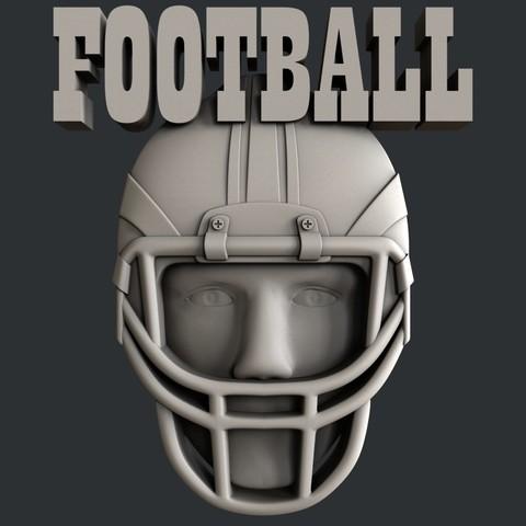P105a.jpg Download STL file Set American Football • 3D printable model, 3dmodelsByVadim