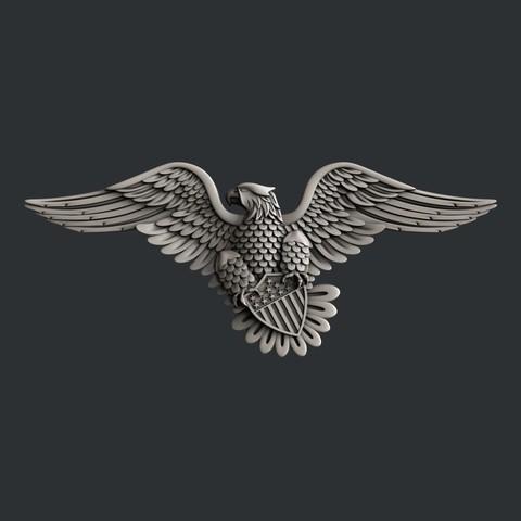 3D printer models USA Eagle, burcel