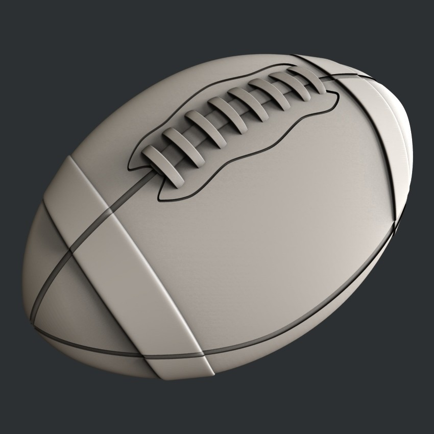 P105c.jpg Download STL file Set American Football • 3D printable model, 3dmodelsByVadim