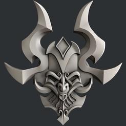 3D print model Mask totem, burcel
