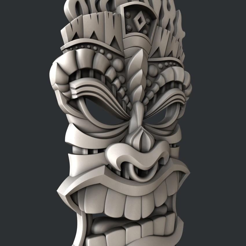 P100-1.jpg Download STL file 3d models totem • 3D printing template, 3dmodelsByVadim