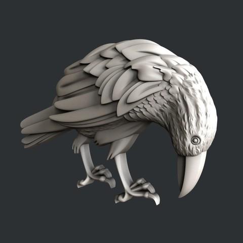 P107-2.jpg Download STL file Raven • 3D printable design, 3dmodelsByVadim