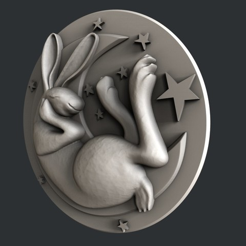 P25-1.jpg Download STL file Bunny • Model to 3D print, 3dmodelsByVadim