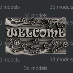 P355a.jpg Download STL file welcome • 3D printable design, 3dmodelsByVadim