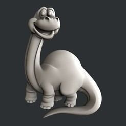 STL Dinosaurio, burcel