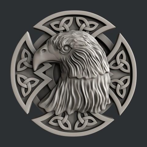 3D print files Eagle, burcel