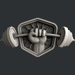 Download STL 3d models barbell, burcel