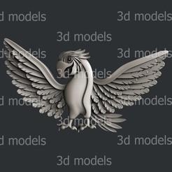 P358a.jpg Download STL file Parrot • 3D printing template, 3dmodelsByVadim