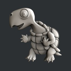 Download 3D printing templates Turtle, burcel