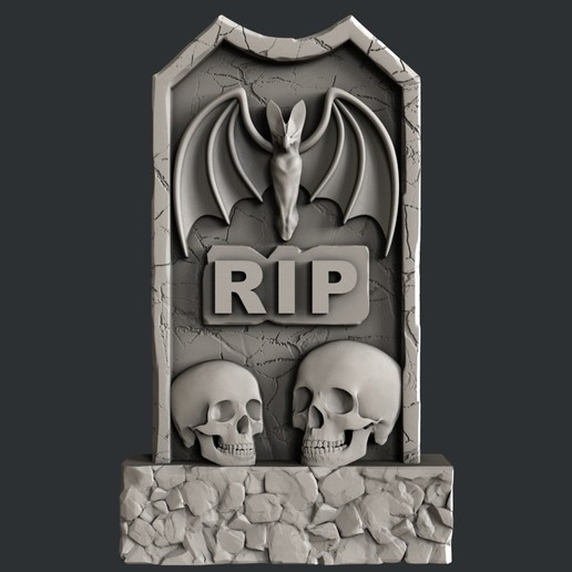 Imprimir en 3D lápidas sepulcrales, burcel