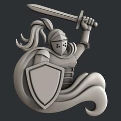 Download STL knight, burcel